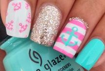 Inspiration for Nails and Hair