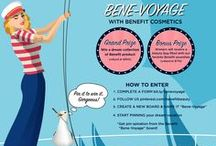 Bene-Voyage / My dream vacation with Benefit Cosmetics tagging along on my journey! / by Nataly Cruz-Castillo