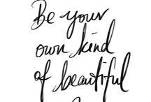 Beauty / All things beauty
