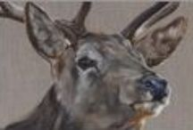 Oh Deer! Fine Art Prints / Tony O'Connor Fine Art Deer Prints: Scottish and Irish Red Deer, Stag, hind, wildlife