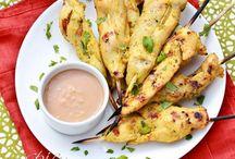Asiatisk oppskrifter / Asiatisk inspirert mat