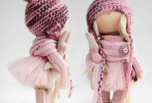 munecas de trapo / bambole di stoffa