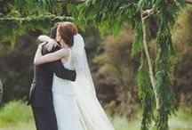 An Elegant Woodland Wedding Celebration / After an intimate official ceremony with your closest family and friends, why not have the rest of your guests join you to witness your vows of commitment to each other in a beautiful woodland setting.