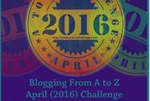 A to Z Challenge 2016 / My A to Z Challenge 2016 pinterest board. My theme is 'Musical Mavens'.