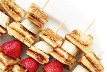 Yum Snacks / We all deserve a guilt-free treat from time to time.
