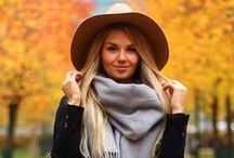 Fall Fashion / Fall Fashion, Fall outfits, the chunky scarves, comfy sweaters, cute boots, colorful leaves, hot drinks, cinnamon and pumpkin-flavored everything.