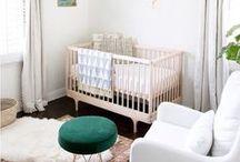 Modern Nursery / Modern minimalist decoration ideas for the nursery.