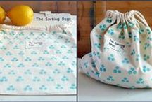 The Sorting Bags / Canvas bags for shopping for veggies and fruits. https://www.facebook.com/thesortingbags/