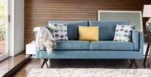 Genna MCM Sofa $849 by Furniture of America