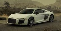 Audi R8 / Born on the track. Built for the road.