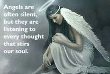 Angel art / angels are calling (see also  Angels (dark) and demons                 One way tiket & grief )