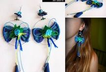 Fanya's handmade earrings / Handmade earings from Fanya Art Crafts