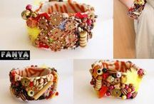 Fanya's handmade bracelets / Handmade braceletes form Fanya Art Crafts