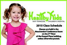 Events Calendar / Children's Hospital community events about kid's health and safety. / by East TN Children's Hospital