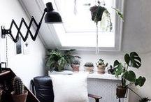 ❉ Green Interiors