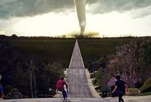 Tornado Mother Nature's raw beauty / Absolutely beautiful and terrifying at the same time.