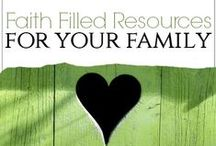 Devotional Family Living / Faith-filled family resources, activities and games to encourage living our faith out loud together!