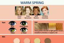 Welk Kleuren Type Ben Jij? / Bent u een: Lente Type, Zomer Type, Herfst Type of Winter Type