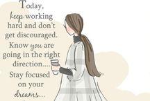 Inspiring inspirations / Quotes