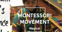 Montessori-Style Movement Activities / Physical Fitness, Dance, & Move to Music for children.