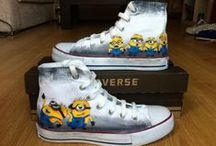 Custom Converse Shoes / Custom Converse Shoes  Hand Painted Custom Converse Shoes
