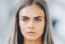 Granny Haare / Graue Haare sind nur was für Omas? Quatsch! Hellgraue Haare hätten wir jetzt gerne und zeigen euch deshalb Frisuren und Haarfarbentrends in allen schönen Shades of Grey...