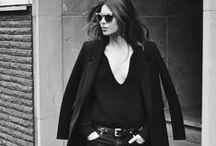 Black / Schwarz ist unsere Lieblingsfarbe - die schönsten Styles in All Black