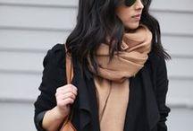 Schals und Tücher / Accessoires, die warm halten und toll aussehen - Streetstyle Inspiration im Detail!