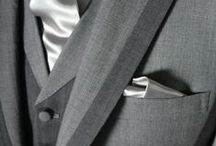 tips & grey suits