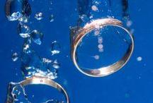 Getting married... / Hochzeitsideen und Inspiration für die Feier. Thema: Tauchen und Mee(h)r, See, Äpfel und Wein