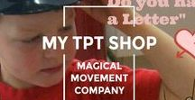 Musically Montessori TPT  STORE (Teachers Pay Teachers) / Magical Movement Company's Montessori style downloadable lesson plan activities for Montessori Preschool Music, Movement, The Arts,  the Outdoor Classroom, and Montessori Baby-Ed.