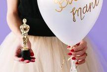 Die Oscars / Am 28. Februar 2016 ist es wieder soweit: And the Oscar goes to...! Hier findet ihr oscarreife Frisuren, Outfits, Make-up-Ideen, die coolsten Oscar-Party-Ideen uvm.