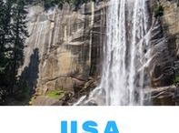 USA - Corners of the World / Inspirational pins about the United States of America.