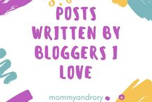Posts written by bloggers I love! / We all have those bloggers we love! Here's a collection of my blog crushes and their very best posts! Get some inspiration and fall in love ❤️