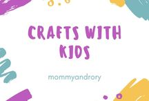 Crafts with Kids / Are you looking to get crafty? Take a look at my lovely craft board for some inspiration and fun ideas