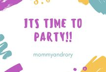 It's time to party!!