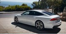 Audi A7 / Four rings. A clear line.
