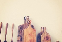 wooden boards and things