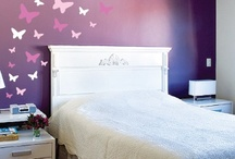 Girls Rooms Wall Decals / Use these fun decals to create a wonderland for any little girl. / by Decal Deals