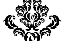 Damask Wall Decals / Add an elegant design to your dinning room or a retro feel to your bedroom. These damask wall decor decals will give you the look you desire. See more at decaldeals.net. / by Decal Deals