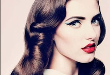 Passion for 40's fashion and make-up