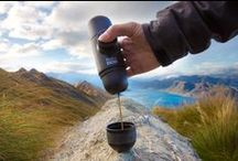 Minipresso / Espresso on the go! Minipresso is the perfect portable espresso machine to take along on all of your adventures; enjoy a delicious espresso anytime, anywhere!