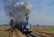 Day Out With Thomas / Join Thomas the Tank Engine™, a full-sized operating steam locomotive, as he greets friends of all ages. Ride a train pulled by Thomas and meet Sir Topham Hatt™. You'll find lots of other exciting activities, and a complete selection of Thomas merchandise in our gift shop.