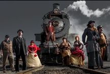 Steampunk unLimited / A juxtaposition of art and invention, creativity and technology while paying homage to the Victorian Era and Industrial Revolution, Steampunk unLimited is a premier weekend event at the Strasburg Rail Road. Train rides behind a massive steam locomotive, delicious eats and treats, steampunk handiwork, photo opportunities galore, an insider's look through a shop tour, music reflective of days gone by, and so much more are just a snippet of the weekend's events.