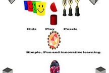 Kidz Learn Applications™ / Mobile applications in iOS,Android,Amazon Kindle and Blackberry.  check out www.kidzlearn.co