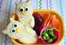 """Healthy Lunches for Kids / """"Healthy"""" Lunch Doesn't Have to Mean """"Boring"""" Lunch!  Banish the boring with these fun, healthy lunch ideas"""