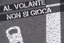 Sicurezza Stradale / Comunicazione sociale a cura degli studenti della IV Liceo Artistico sulla sicurezza stradale in collaborazione con l'Associazione Vittime della Strada - a.s. 2013/2014