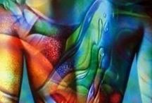 ~ Body Canvas ~ / Art on Body Canvases  / by Felecia Catlover