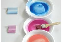 Paint, Stain & Glaze Colors / Nothing is safe now! You can make any color of furniture glaze - and its so easy! Learn how to make furniture glaze in any color!