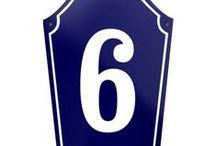 Porcelain Enamel Signs / Enamel Numbers / Address Plaques / Manufacturer of enamelled signs